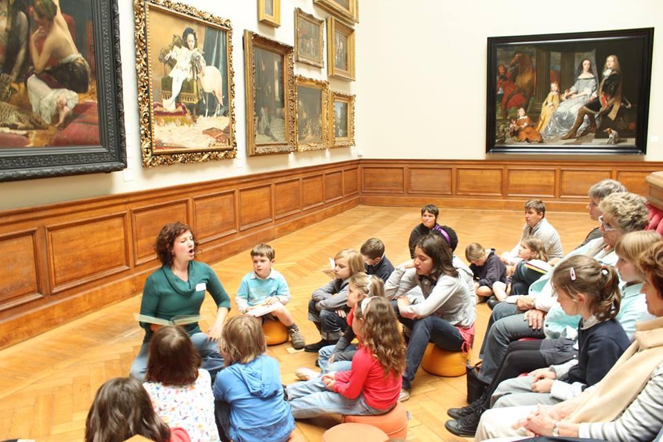З дітьми про мистецтво: що важливо для дітей різного віку